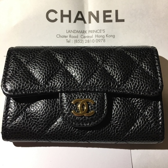 6d0b2480dfff8d CHANEL Bags | New Authentic Classic Card Holder | Poshmark